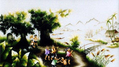 The height of Dalat embroidery art