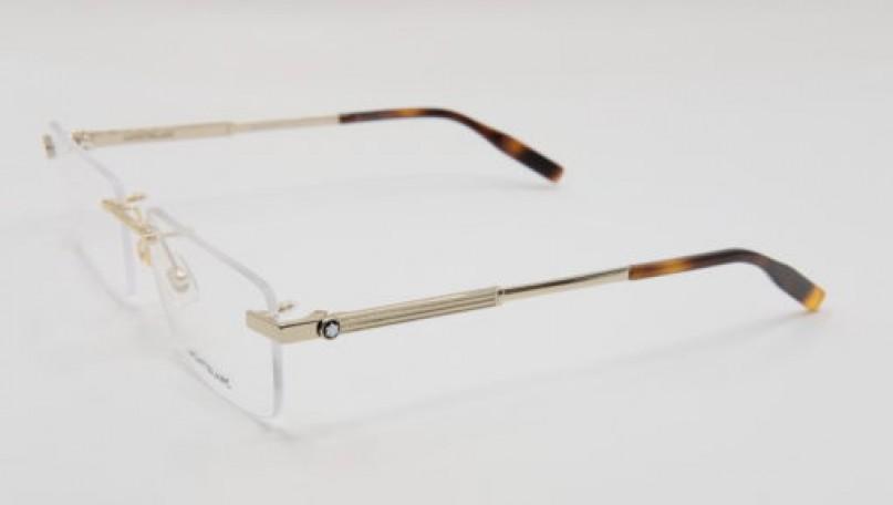 Montblanc Rimless Gold Eyeglasses Frames 00300